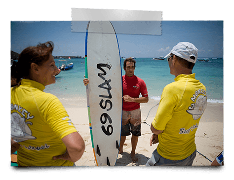 nusa lembongan bali ecole de surf