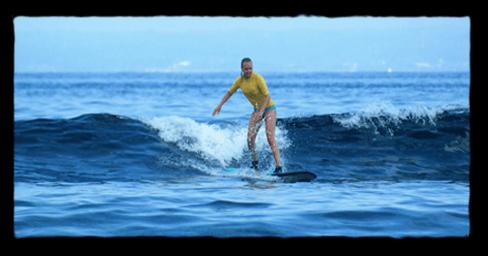 surf lesson Lembongan