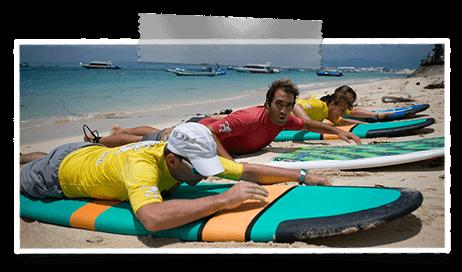 cours de surf a bali lembongan