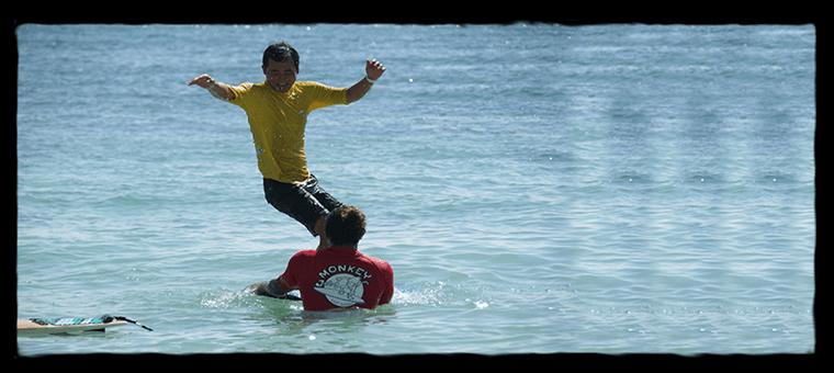 冲浪课巴厘岛 Alex