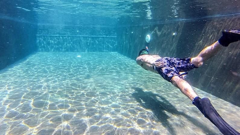 one breath freediving dynamic practice