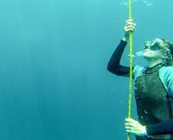 freediving open water session