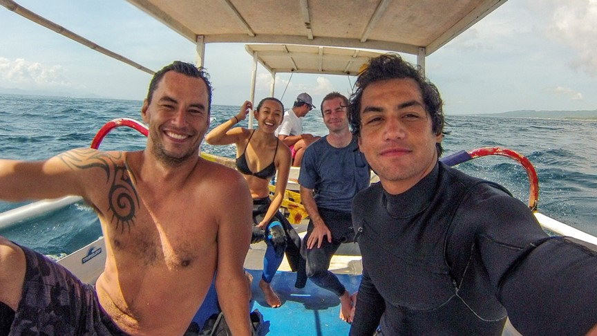 freediving retreat in nusa lembongan