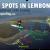map of surf breaks in nusa lembongan