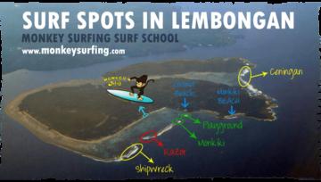 Nusa Lembongan Surf Spots